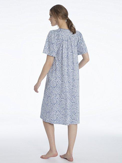 CALIDA Soft Cotton Kurzarm-Nachtkleid, Länge 110cm