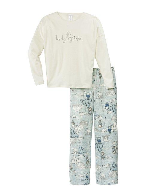 CALIDA Snow Mädchen Schlafanzug
