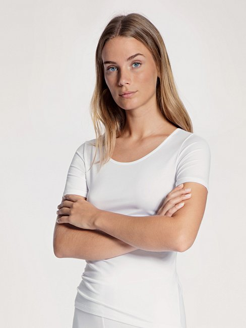 CALIDA Natural Comfort T-Shirt, Rundhals
