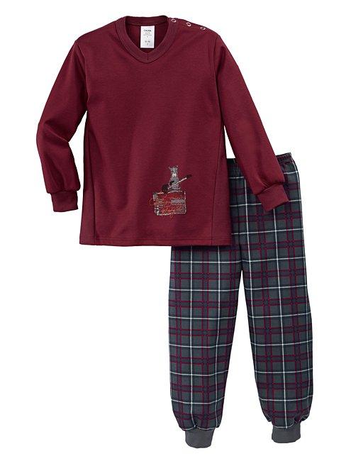 CALIDA Toddlers Rockstar Pyjama avec bords élastiques