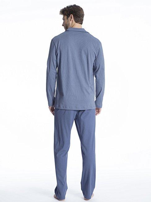 CALIDA Relax Imprint 1 Pyjama, durchgeknöpft