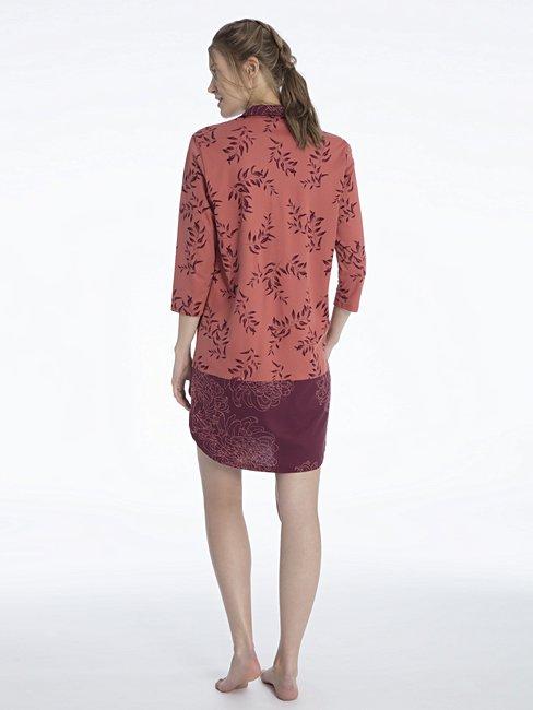 CALIDA Jaelle Sleepshirt mit Knopfleiste, Länge 95cm