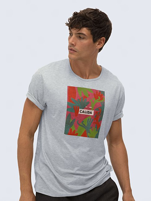 CALIDA 100% Nature Herren T-Shirt, Compostable