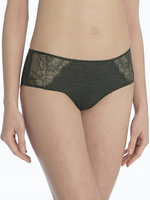 CALIDA Ines Panty aus Wolle-Seide, regular cut