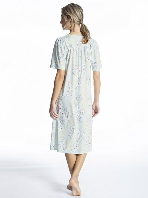 CALIDA Soft Cotton Kurzarm-Nightshirt, Länge 110cm