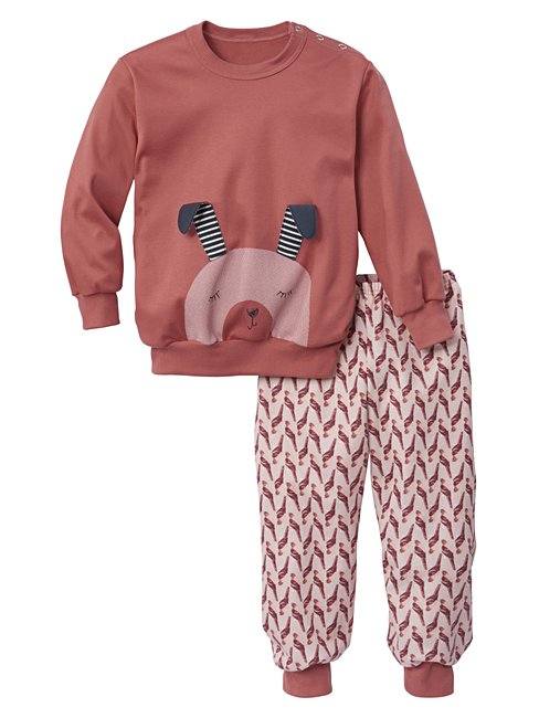 CALIDA Honey Bunny Kinder Bündchen-Pyjama