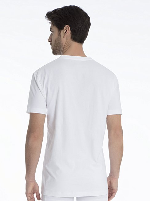 CALIDA Activity Cotton T-Shirt mit V-Ausschnitt
