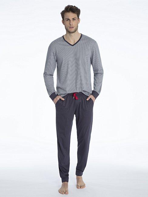 CALIDA Kolia Pyjama avec bords élastiques