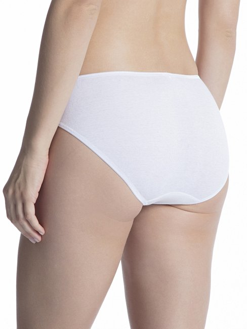 CALIDA Cotton Finerib Mini Slip, regular cut