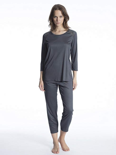 CALIDA Cosy Breeze Lace Pyjama 7/8