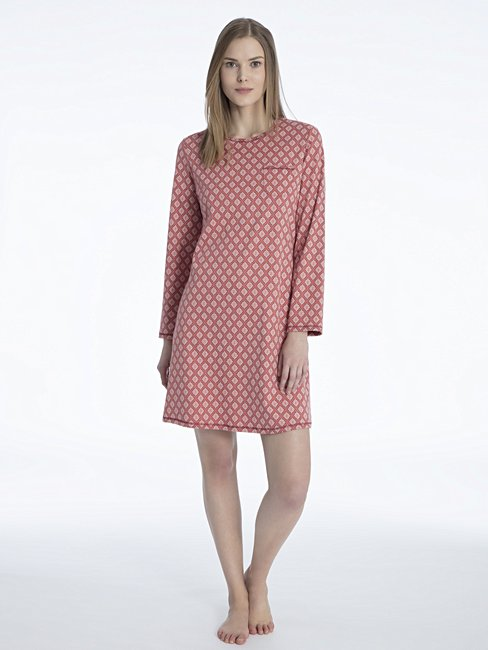 CALIDA Rosanna Sleepshirt, Length 95cm