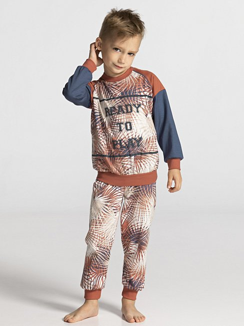 CALIDA Toddlers Tropic Pyjama with cuff