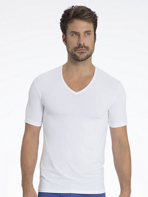 CALIDA Performance Air T-Shirt, V-Ausschnitt