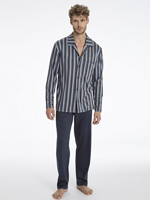 CALIDA Percy Pyjama durchgeknöpft