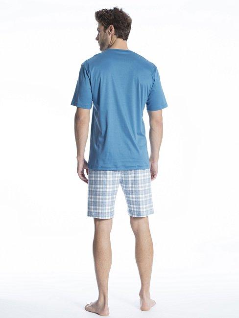 CALIDA Relax Selected Kurz-Pyjama mit V-Ausschnitt
