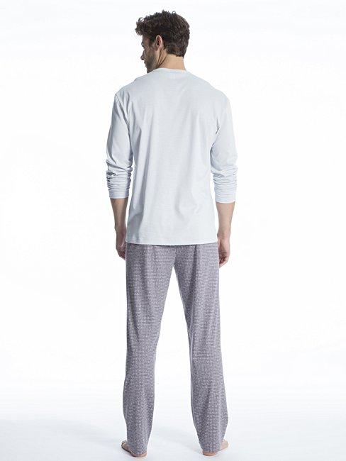 CALIDA Relax Gentle Pyjama mit V-Ausschnitt