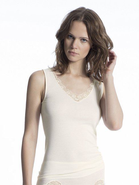 CALIDA Cotton Finerib Tank-Top
