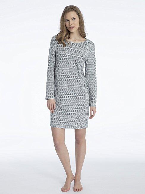 CALIDA Eleonor Langarm-Sleepshirt, Länge 95cm