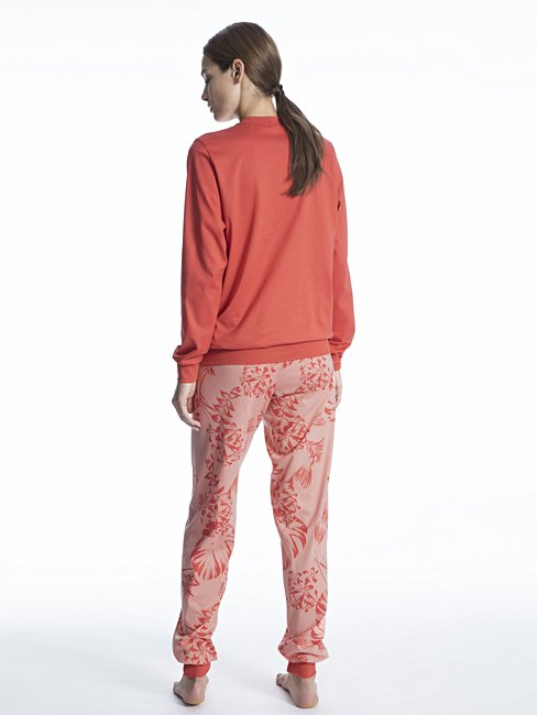CALIDA Soft Jersey Fun Pyjama with cuff