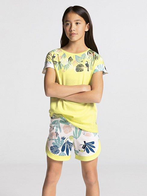 CALIDA Girls Tucan Mädchen Kurz-Pyjama