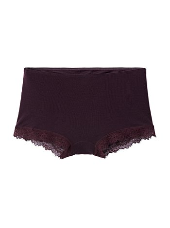 CALIDA Rosa Panty, regular cut aus Schurwolle