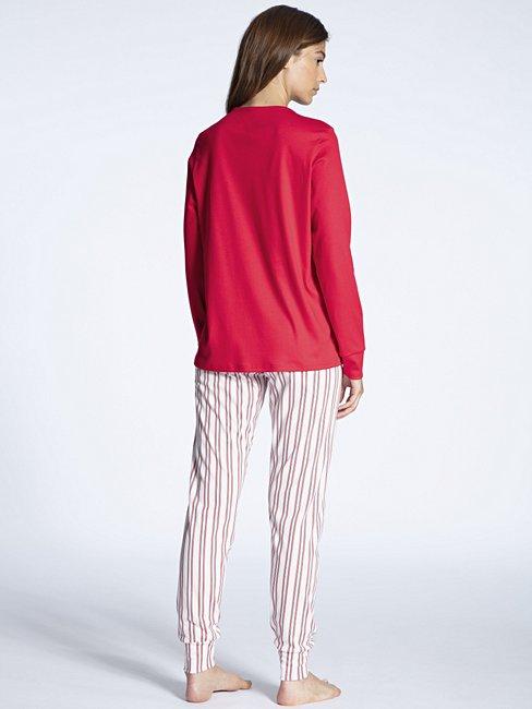 CALIDA Cosy Emotion Bündchen-Pyjama