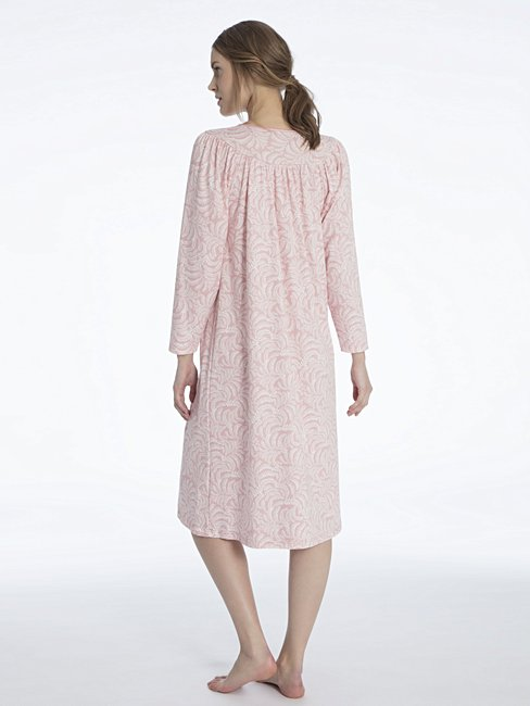 CALIDA Soft Cotton Nightdress, lunghezza 110cm
