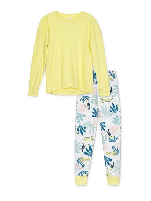 CALIDA Girls Tucan Mädchen Schlafanzug mit Bündchen