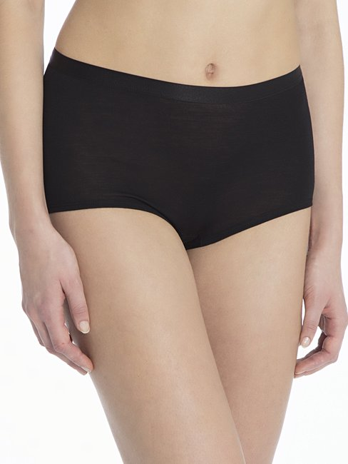 CALIDA True Confidence Panty aus Wolle-Seide, high waist