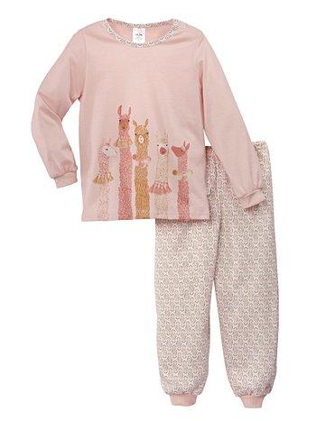 CALIDA Toddlers Lama Kinder Bündchen-Pyjama
