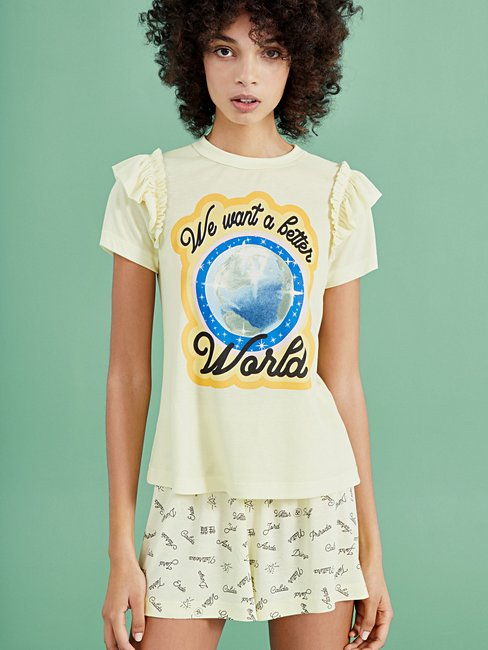 CALIDA VIKTOR&ROLF X CALIDA Kurzarm-Shirt, Compostable