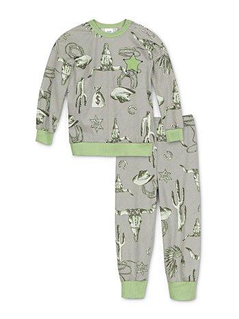 CALIDA Toddlers Western Kinder Schlafanzug mit Bündchen