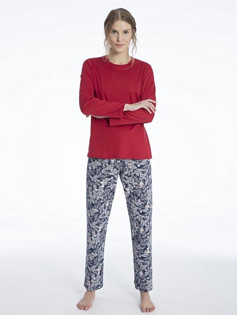 Pigiama donna Taglia 8 10 12 14 16 18 Notte Donna indossare Pantaloni Lounge 2 Free Top
