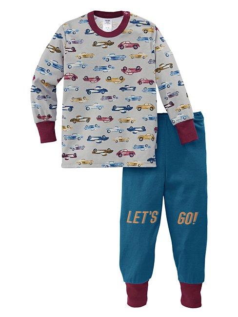CALIDA Toddlers Cars Pyjama with cuff