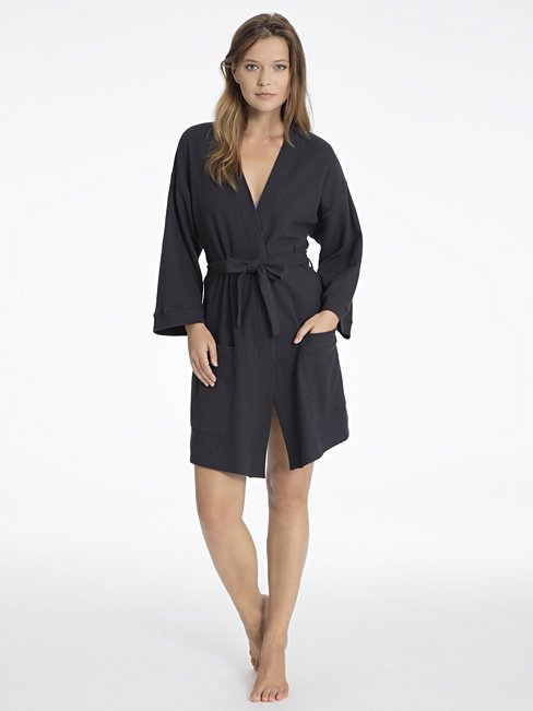 CALIDA After Shower Robe, Kimono-style blue | CALIDA Online-Shop