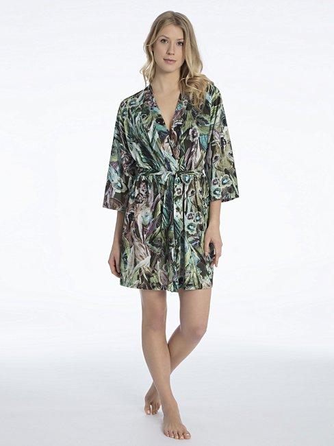 CALIDA Favourites Trend 4 Jersey-Kimono, Länge 95cm