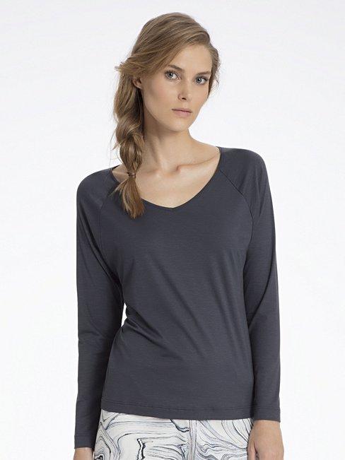 Favourites Trend 1 Shirt langarm%2c blau%2c XXS CALIDA YdXTwGH