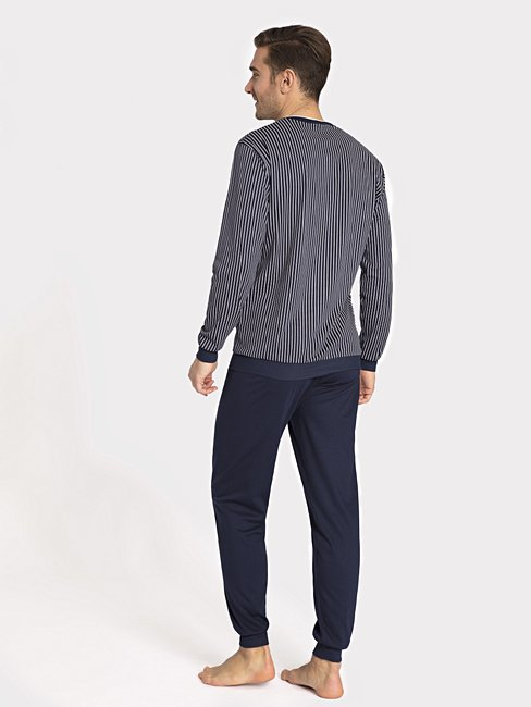 CALIDA Jeremy Pyjama avec bords élastiqués