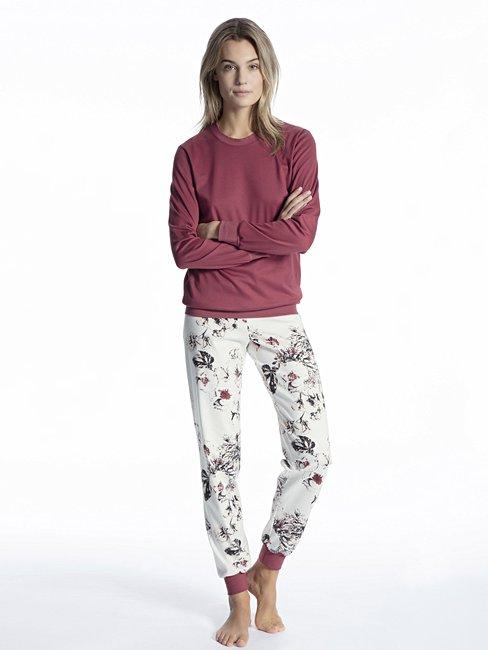 CALIDA Cosy Dreams Bündchen-Pyjama
