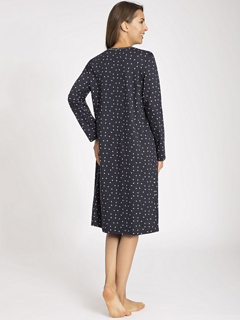 CALIDA Deborah Nachtkleid langarm, Länge 110cm