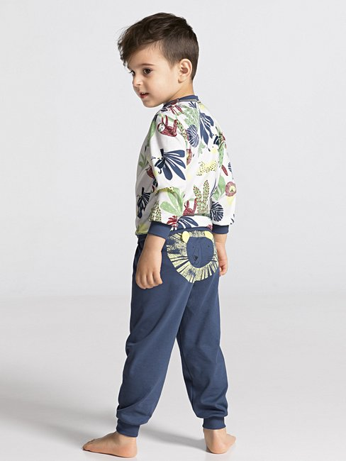 CALIDA Toddlers Lion Pyjama with cuff