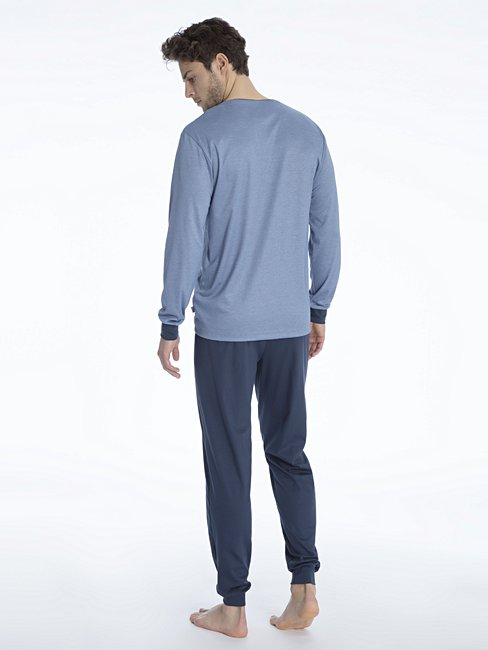 CALIDA Nimo Pyjama avec bords élastiqués