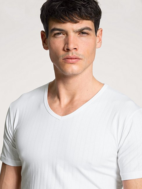 CALIDA Pure & Style T-Shirt, V-Neck