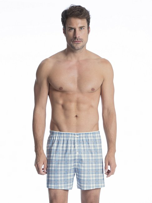 CALIDA Selected Cotton Boxer Shorts mit Komfortbund