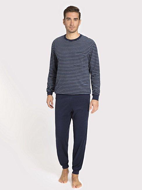 ab3e2c2be1 Matthew 44069 - HERREN Pyjama mit Bündchen | Offizieller CALIDA Shop
