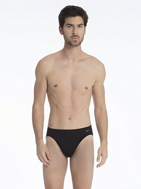 CALIDA Activity Cotton Slip, überzogener Bund