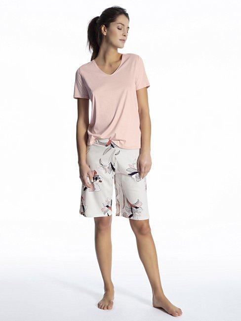 CALIDA Favourites Trend 1 Kurzarm-Shirt, V-Neck