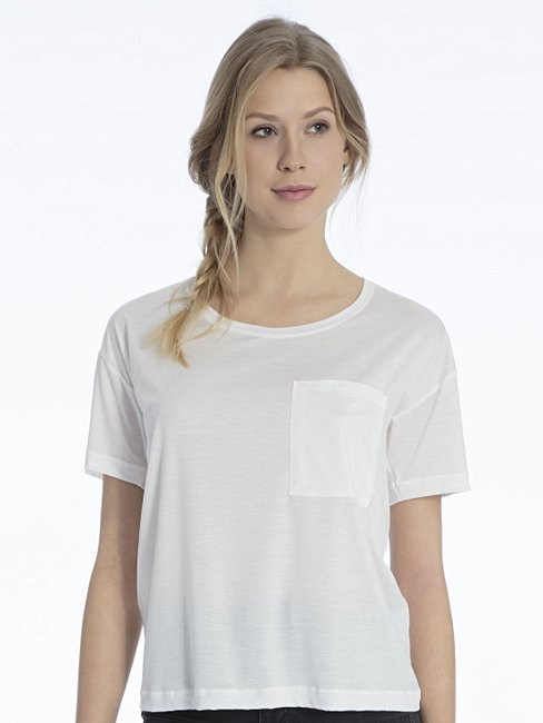 CALIDA 100% Nature Damen Kurzarm-Shirt, Compostable