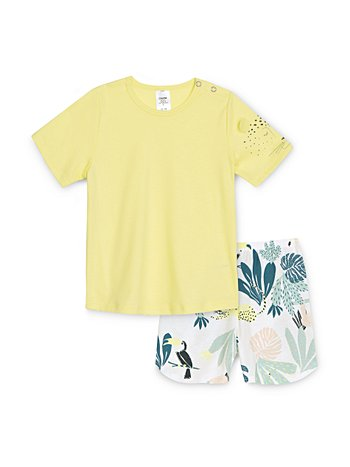 CALIDA Toddlers Tucan Kinder Kurz-Pyjama