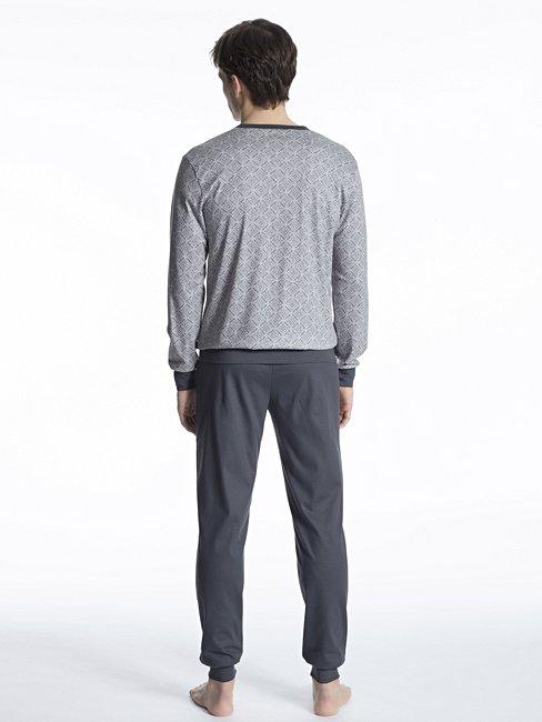CALIDA Casual Warmth Bündchen-Pyjama